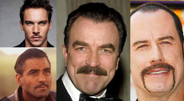 Brilliant Four Moustache Styles For A Man With Style Men39S Fit Club Short Hairstyles Gunalazisus