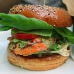 Arctic Char Salmon Burger Recipe